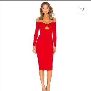 REVOLVE privacy please red dress